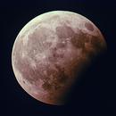Eclisse parziale di Luna,                                Maurizio Fortini