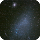 Small Magellanic Cloud with Globular clusters 47 Tucanae top and NGC 362 lower left.,                                Mark Sansom