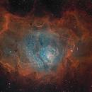 M8 - Lagoon Nebula 2 panel Mosaic,                                Kevin Morefield