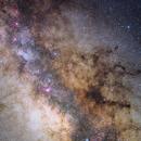 Galactic Center Region,                                Giuseppe Donatiello