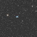 M76 Little Dumbbell Nebula,                                Andrea Pistocchini - pisto92