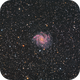 NGC 6946, The Fireworks Galaxy with SN 2017eaw,                                karambit27