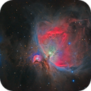 Orion nebula in HaRGB (Canon 350D MONO & 450D color),                                Luis Campos