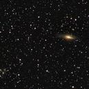 Galaxie NGC7331 dans Pégase et groupe de galaxies STEPHAN'S QUINTET (Haute résolution),                                Denis Bergeron