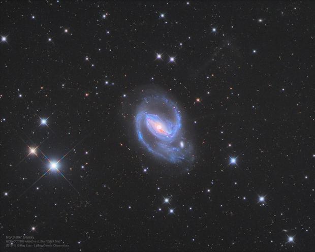 NGC1097 from Lijiang, China,                                Ray Liao