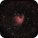 NGC 281 Pacman,                                Bernard Tournois