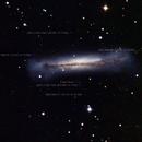 Quasars around Galaxy NGC3628,                                AstroEdy