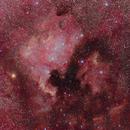 NGC 7000 / IC 5070 L(RGB)RGB,                                Giovanni Benintende