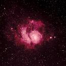 Messier 8 - The Lagoon Nebula,                                Sderamus