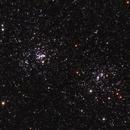 Amas double de Persée le 20 septembre 2015 (NGC 884 et NGC 869),                                Laurent3112