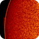 2018.08.04 Sun big prominence H-Alpha,                                Vladimir
