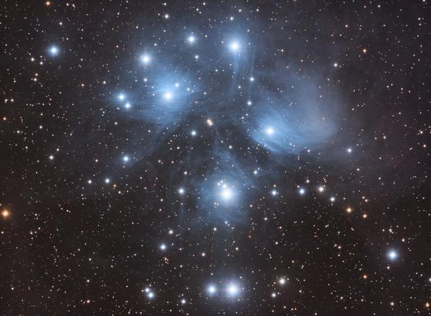 M45 Pleïades,                                Kesphin