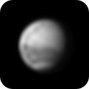 Mars on April 25, 2020 in Infrared,                                Chappel Astro