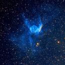 NGC 2359 Thor's Helmet in Hubble Palette,                                DavidLJ