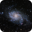 Messier 33,                                Jannick Petersson