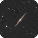NGC4565, Needle Galaxy in Coma Berenices constellation,                                MassimoTuninetti