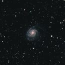 Pinwheel Galaxy,                                darkandblurry
