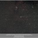 Comet 21P Giacobini-Zinner near the Cone Nebula, 20180925,                                Geert Vandenbulcke