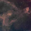 IC1805 Heart Nebula,                                apophis