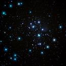 Messier 45 - Meine erste DSLR Aufnahme,                                Stars of Sky