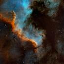 The Great Wall   -  NGC7000  in Cygnus,                                Arnaud Peel