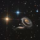 Arp 273 - The Cosmic Rose,                                KuriousGeorge