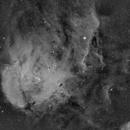 IC 2948 , RUNNING CHICKEN NEBULA (  H Alpha),                                JAIME FELIPE RAMIREZ NARVAEZ