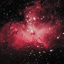 M15: The Eagle Nebula (Ha/OIII) (2020),                                Daniel Tackley