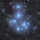 M45 (Pleiades) AT72EDII,                                John Pungello