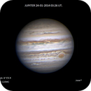 Jupiter on 24/01/2014 ,                                Franco
