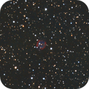 Abell 82 a Planetary Nebula in Cassiopiea HOO with RGB stars.,                                Pat Rodgers