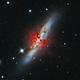 M82, Cigar Galaxy - Ha,                                Matt Proulx