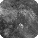 Crescent Nebula - Widefield - PI Drizzle,                                Deep Sky West (Lloyd)