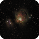 Orion: M42 and M43 (sept. 2019),                                Harold Freckhaus
