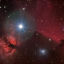 "NGC2024 ""flame nebula"" incl. IC 434 ""horse head nebula"",                                Mathias Radl"
