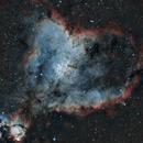 IC1805 Heart Nebula,                                Dhaval Brahmbhatt