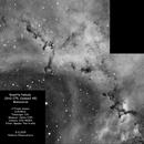Rosette Nebula mosaic,                                Rauno Päivinen
