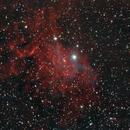 Flaming Star Nebula,                                Ugmul