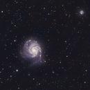 Pinwheel Galaxy (Messier 101) with OSC,                                Nasdaq76