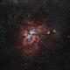 Eta Carinae (NGC 3372) - Fixed Tripod,                                Carlos 'Kiko' Fai...