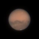 Mars @34° Altitude 10/10/2020 20:42 UTC,                                Falk Schiel