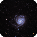 M101 Pinwheel Galaxy,                                Pete Bouras