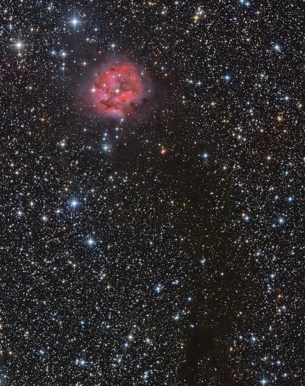 IC5146 - The Cocoon Nebula Revisited,                                Samuli Vuorinen
