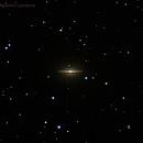 M104 -Sombrero Galaxy - NGC 4594,                                Agostino Lamanna