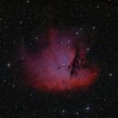 Pacman Nebula - NGC 281 / Sh2-184 / LBN 616,                                Falk Schiel