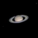 Saturn with Dione, Tethys & Rhea,                                Neven Krcmarek