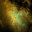 M16 Hubble Palette,                                bigeastro