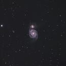M 51 - Whirlpool Galaxy,                                Gérard Nonnez