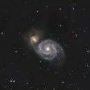 M51 Whirlpool Galaxy,                                Edward Overstreet