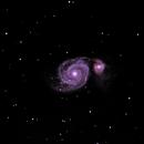 Messier 51,                                Bremsstrahlung